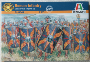 Italeri 1/72 IT6047 Imperial Roman Infantry (Ancients)